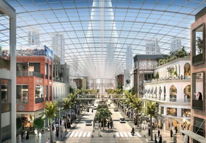 Nếu một ngày biến đổi khí hậu khiến thế giới bên ngoài không thể sống nổi, Dubai đã có cách khắc phục - Ảnh 3.