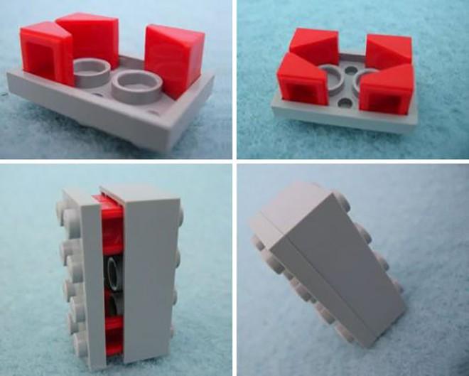 Internet đang phát cuồng với kỹ thuật lắp LEGO kiểu ngược đời - Ảnh 2.