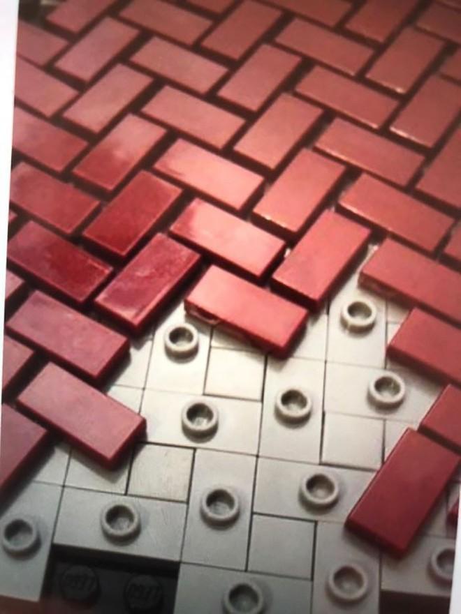 Internet đang phát cuồng với kỹ thuật lắp LEGO kiểu ngược đời - Ảnh 3.
