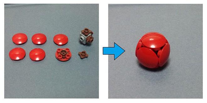 Internet đang phát cuồng với kỹ thuật lắp LEGO kiểu ngược đời - Ảnh 4.