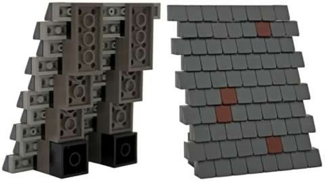Internet đang phát cuồng với kỹ thuật lắp LEGO kiểu ngược đời - Ảnh 6.