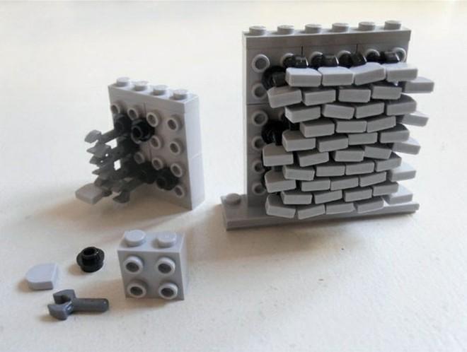 Internet đang phát cuồng với kỹ thuật lắp LEGO kiểu ngược đời - Ảnh 7.