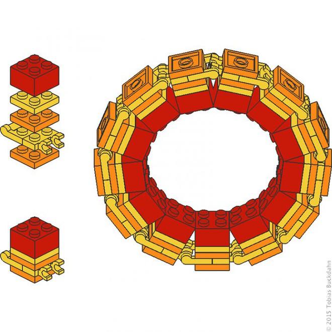 Internet đang phát cuồng với kỹ thuật lắp LEGO kiểu ngược đời - Ảnh 8.