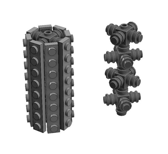 Internet đang phát cuồng với kỹ thuật lắp LEGO kiểu ngược đời - Ảnh 9.