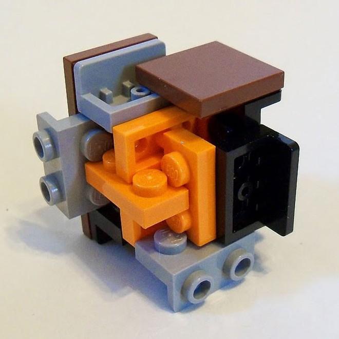 Internet đang phát cuồng với kỹ thuật lắp LEGO kiểu ngược đời - Ảnh 11.