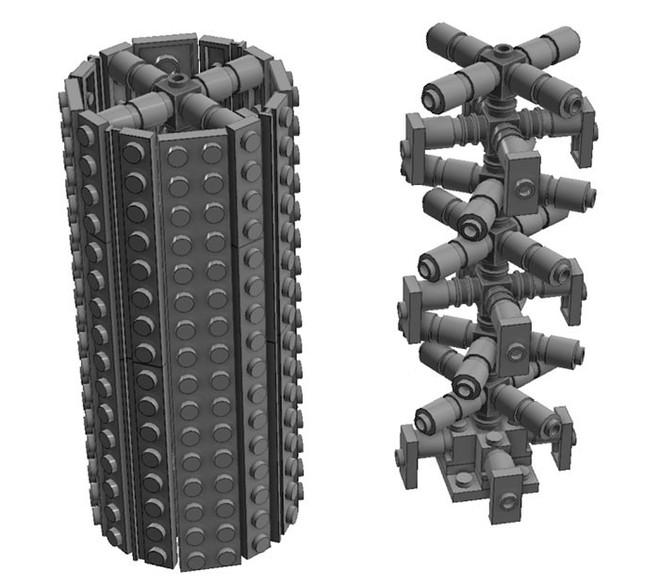 Internet đang phát cuồng với kỹ thuật lắp LEGO kiểu ngược đời - Ảnh 10.