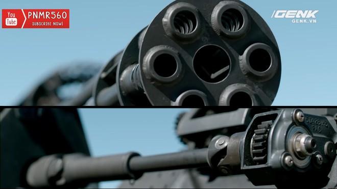 [Vietsub] Gắn súng máy Vulcan nòng xoay bắn 6600 vòng/phút lên nóc xe Toyota Prius thì sẽ thế nào? - Ảnh 2.