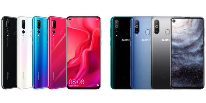 Đọ thông số Huawei Nova 4 và Samsung Galaxy A8s, hai mẫu smartphone đục lỗ màn hình cho camera trước đầu tiên trên thế giới - Ảnh 1.