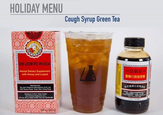 Quán đồ uống Mỹ vừa phát minh ra trà sữa vị bổ phế 5 USD/cốc, đã hợp trend lại trị ho mát họng - Ảnh 1.
