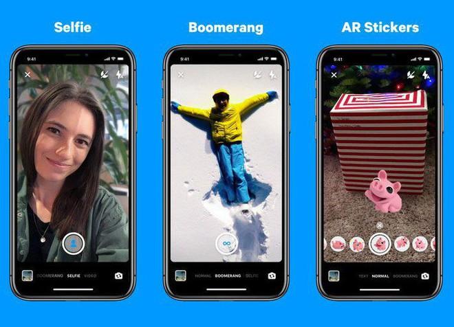Chán bắt chước đối thủ, Facebook Messenger giờ còn bắt chước cả Portrait Mode của iPhone - Ảnh 1.