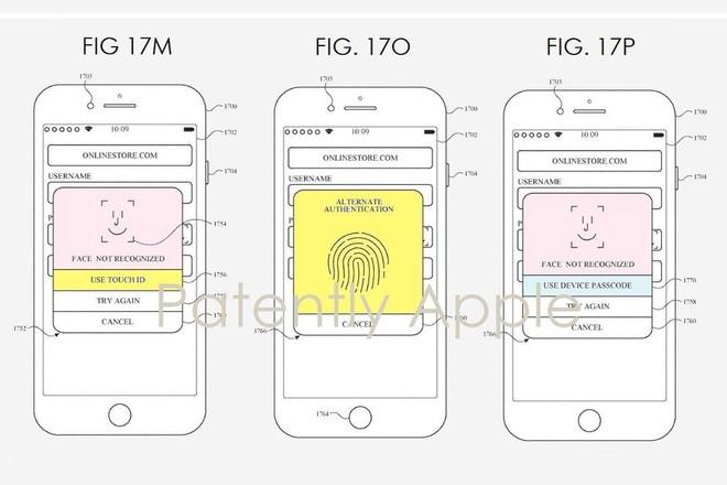 Apple có thể kết hợp công nghệ Face ID và Touch ID cho các thế hệ iPhone trong tương lai - Ảnh 1.