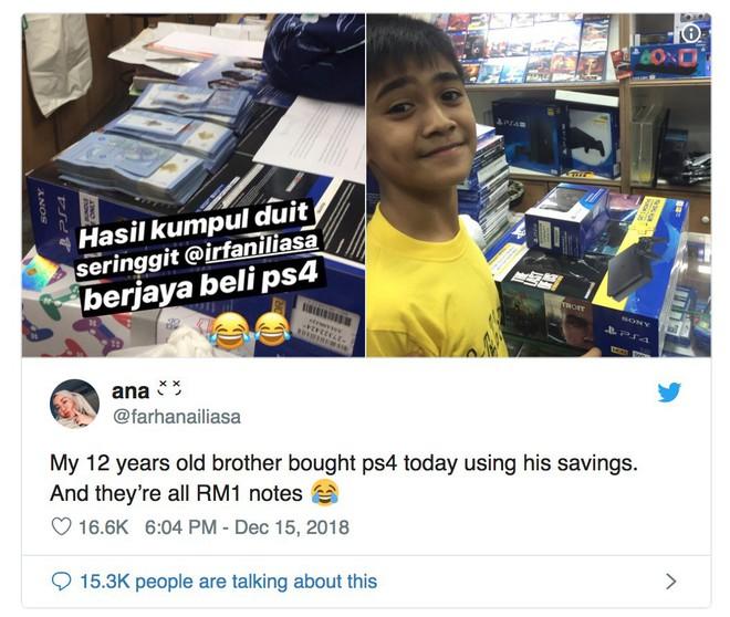 Cậu bé 12 tuổi kinh doanh dịch vụ cho thuê truyện suốt 1 năm ròng để kiếm tiền mua PlayStation 4 - Ảnh 1.