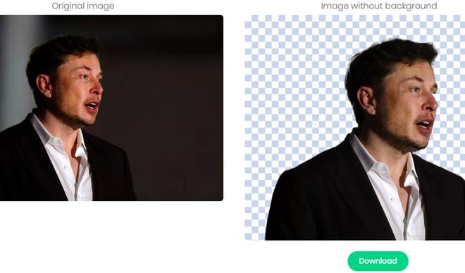 Công cụ trực tuyến miễn phí này sử dụng AI để xóa hình nền, chuyên nghiệp và dễ dàng hơn Photoshop - Ảnh 1.