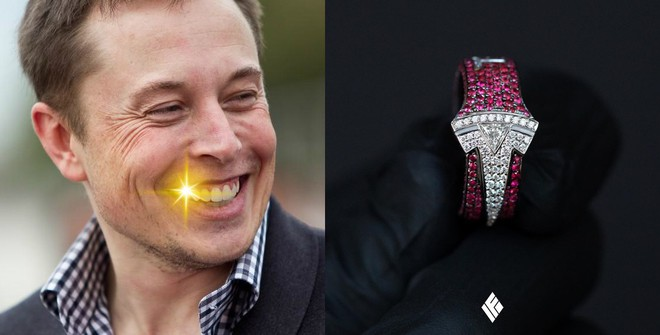 Elon Musk bất ngờ được tặng nhẫn bạch kim hột xoàn Tesla trị giá 930 triệu đồng - Ảnh 4.