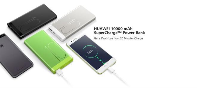 Huawei chuẩn bị ra mắt sạc dự phòng SuperCharger với công suất lên tới 40W, dung lượng 10.000mAh - Ảnh 1.
