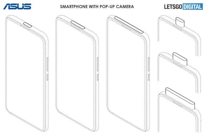Asus sắp ra mắt smartphone có camera thò thụt và màn hình đục lỗ - Ảnh 1.