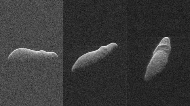 Một tiểu hành tinh trông y như con Hà Mã khổng lồ vừa bay sượt qua Trái Đất - Ảnh 1.