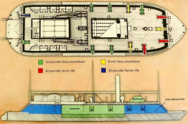 Tàu chiến Mỹ đầu tiên bị đánh đắm bởi một chiếc bình thủy tinh 19 lít - Ảnh 4.