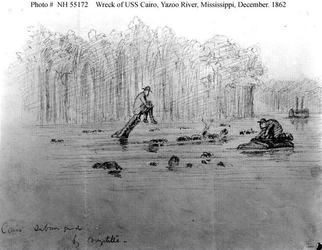 Tàu chiến Mỹ đầu tiên bị đánh đắm bởi một chiếc bình thủy tinh 19 lít - Ảnh 3.