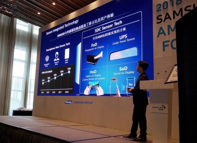 Samsung sẽ giới thiệu công nghệ phát âm thanh từ màn hình OLED tại CES 2019 - Ảnh 1.