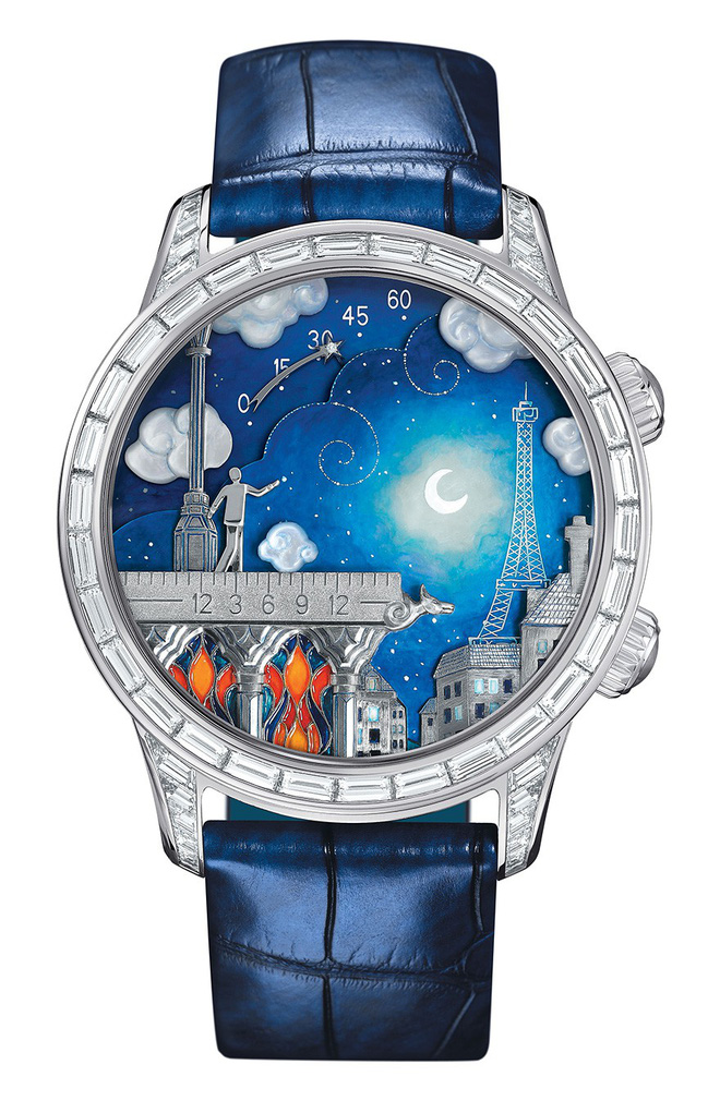Ngỡ ngàng với 10 thiết kế đồng hồ kỳ lạ nhất Trái Đất, chiếc thứ 5 dành cho người luôn trễ hẹn - Ảnh 11.
