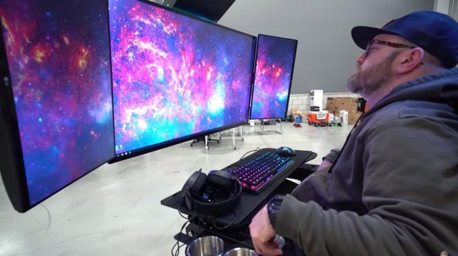 Chiêm ngưỡng cỗ máy mang lại trải nghiệm chơi game tối thượng có giá tới gần 700 triệu của chủ kênh YouTube Unbox Therapy - Ảnh 3.