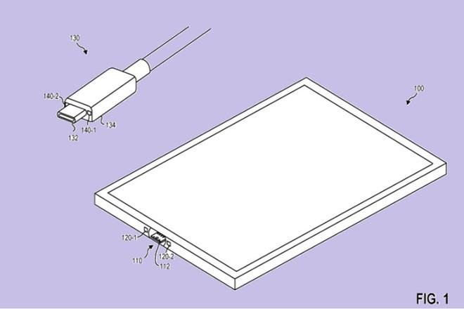 Microsoft nộp đơn xin cấp bằng sáng chế cho cổng USB-C từ tính trên Surface - Ảnh 1.