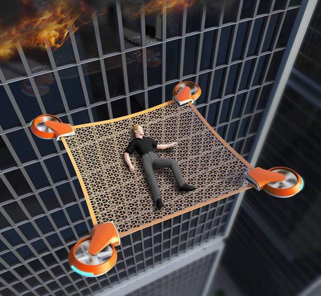 Lưới cứu nạn không người lái Net Guard - drone - giải pháp cho những sự cố hỏa hoạn trên cao - Ảnh 4.