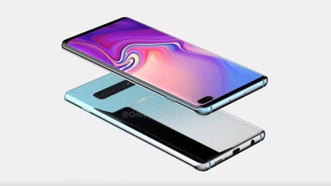 Lộ diện ảnh render cùng kích thước của Galaxy S10+ - Ảnh 4.