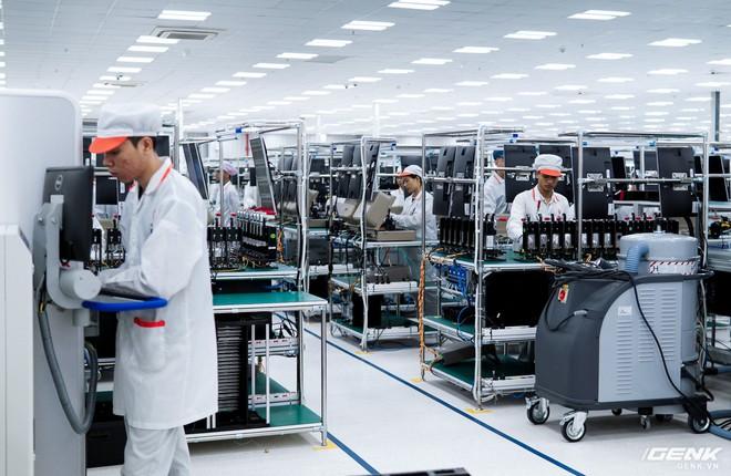 Từ lúc khởi công cho tới khánh thành chỉ mất 3 tháng, liệu nhà máy Vsmart có tuềnh toàng như những gì chúng ta mường tượng? - Ảnh 1.
