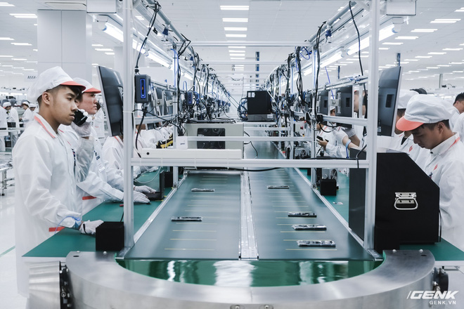 Từ lúc khởi công cho tới khánh thành chỉ mất 3 tháng, liệu nhà máy Vsmart có tuềnh toàng như những gì chúng ta mường tượng? - Ảnh 14.
