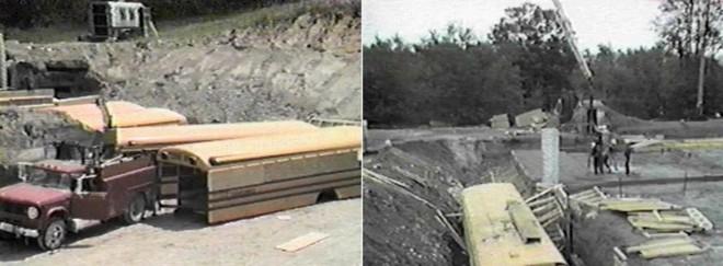 [Vietsub] Cụ ông 83 tuổi dành 50 năm để xây dựng hầm trú ẩn hạt nhân từ 42 chiếc xe buýt - Ảnh 7.
