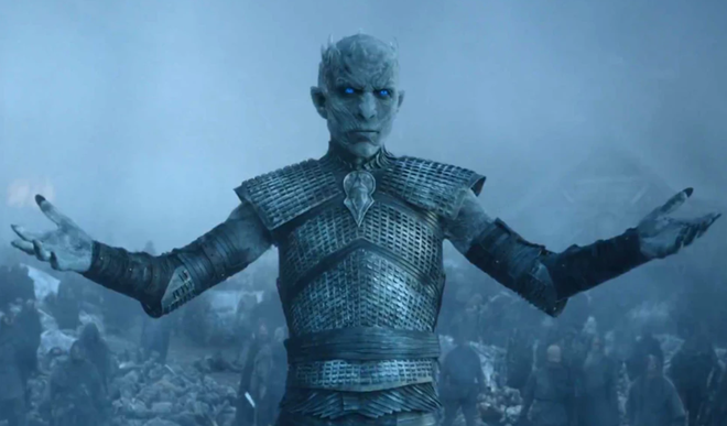 Night King tiết lộ trận chiến lớn nhất lịch sử phim truyền hình sẽ diễn ra tại tập 3 season 8 của Game of Thrones - Ảnh 1.