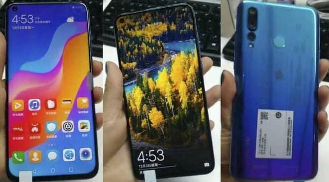 Huawei Nova 4 tiếp tục lộ ảnh thật, đục lỗ góc trên bên trái màn hình cho camera trước, 3 camera sau - Ảnh 2.