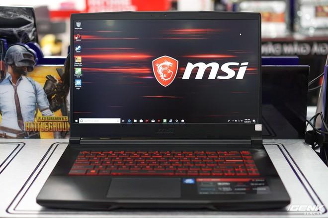 Cận cảnh gaming laptop MSI GF63: hỗ trợ Intel Optane, thiết kế phay xước kim loại, giá từ 22,49 triệu đồng - Ảnh 1.
