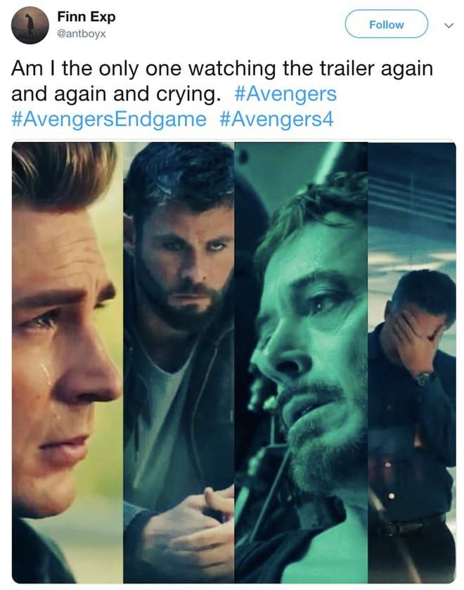 Phản ứng của internet sau khi xem trailer Avengers 4: Lần cuối cùng phim có cảnh này, Steve đã chết - Ảnh 11.