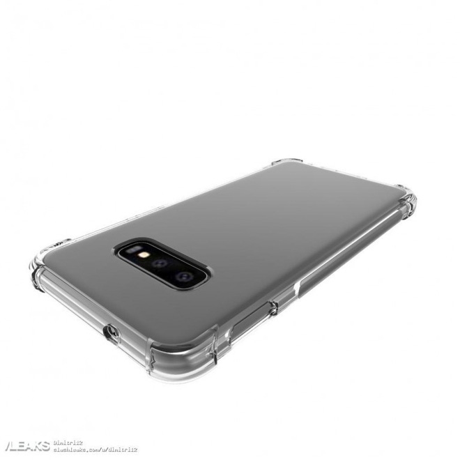 Galaxy S10 Lite xuất hiện với case bảo vệ, xác nhận thiết kế màn hình phẳng - Ảnh 1.