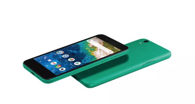 Chiếc điện thoại Android One mới này trông giống hệt một chiếc iPhone 5C - Ảnh 2.