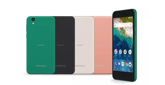 Chiếc điện thoại Android One mới này trông giống hệt một chiếc iPhone 5C - Ảnh 1.