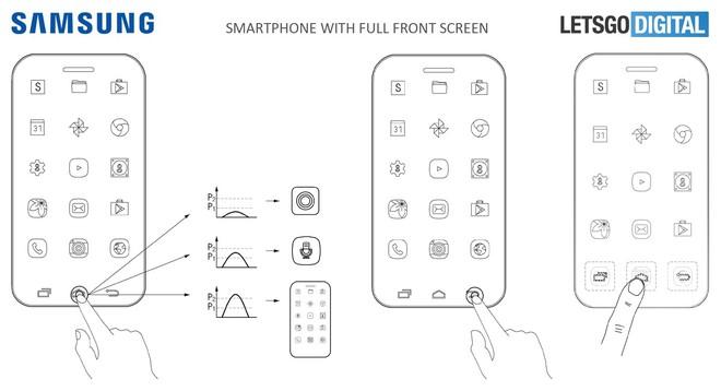 Bằng sáng chế mới cho thấy Samsung sẽ tích hợp rất nhiều cảm biến lực cho các thiết bị tương lai của mình.