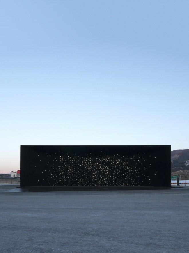 Huyndai Pavilion: Công trình được phủ vật liệu đen nhất thế giới phục vụ Olympic Mùa Đông 2018 tại Hàn Quốc - Ảnh 2.