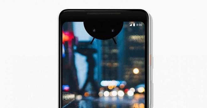 Thế hệ smartphone Android tiếp theo của Google sẽ đi theo xu hướng thiết kế tai thỏ trên iPhone X - Ảnh 1.