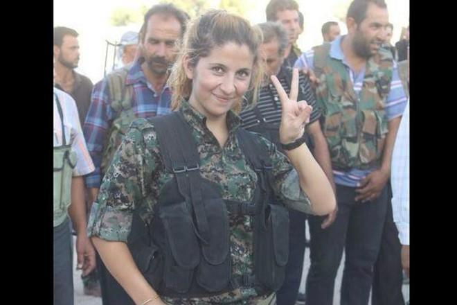 Rehana, thiên thần xứ Kobane.