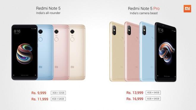 Xiaomi ra mắt Redmi Note 5 Pro: Snapdragon 636, camera kép dọc như iPhone X - Ảnh 1.