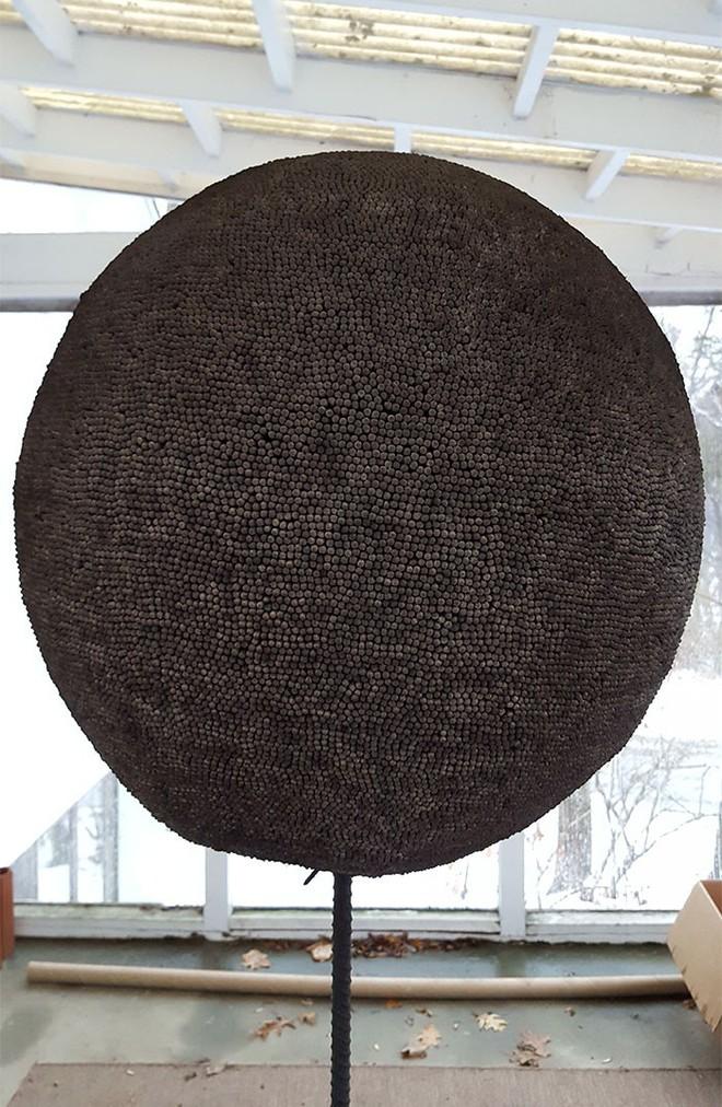Redditor này dành cả thanh xuân để biến 42.000 que diêm thành quả cầu khổng lồ rồi đốt nó đi - Ảnh 16.