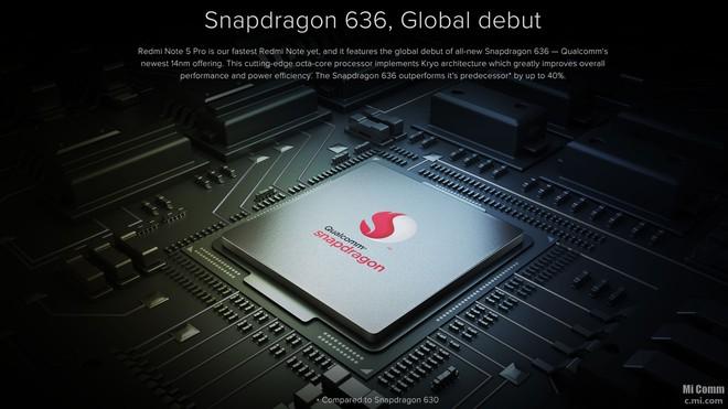 Xiaomi ra mắt Redmi Note 5 Pro: Snapdragon 636, camera kép dọc như iPhone X - Ảnh 3.