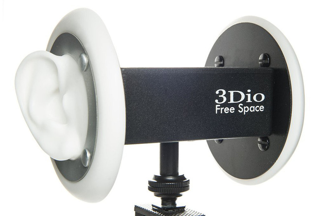 3dio Free Space - một chiếc micrphone Binaural giá rẻ cũng có giá hơn $500!