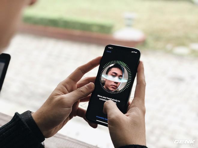 Face ID là công nghệ bảo mật sinh trắc học sử dụng khuôn mặt nhằm thay thế cho cảm biến vân tay Touch ID