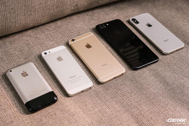 iPhone X là một sự khởi đầu mới của 10 năm tiếp theo