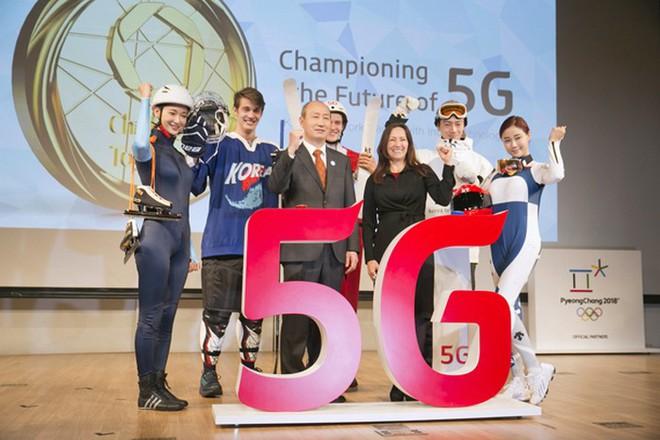 """KT đã trình diễn tất cả công nghệ chuẩn bị cho """"Thế vận hội 5G"""" trong suốt 2 năm qua."""